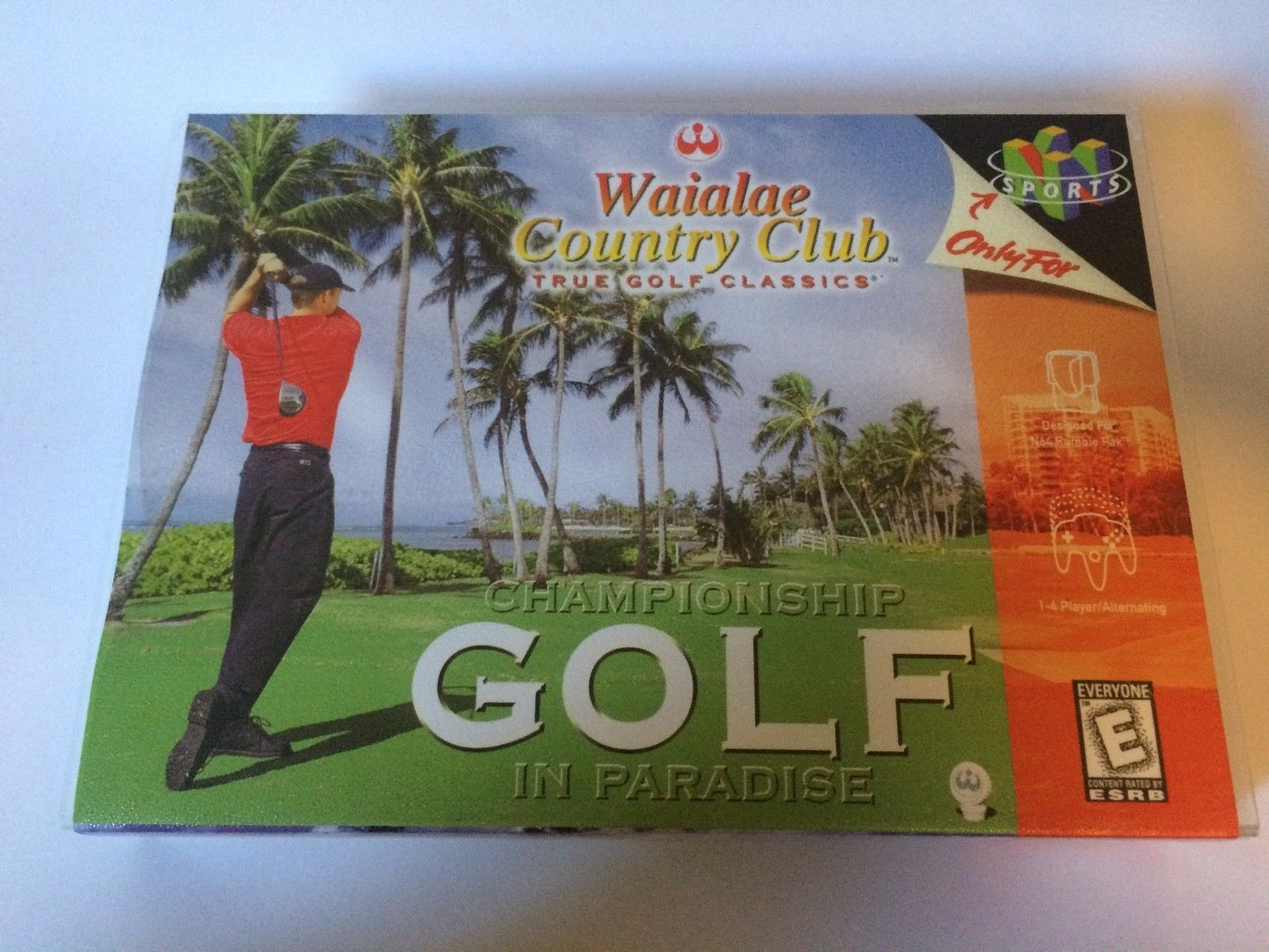 Waialae Country Club - Nintendo 64 - Replacement Case - No Game