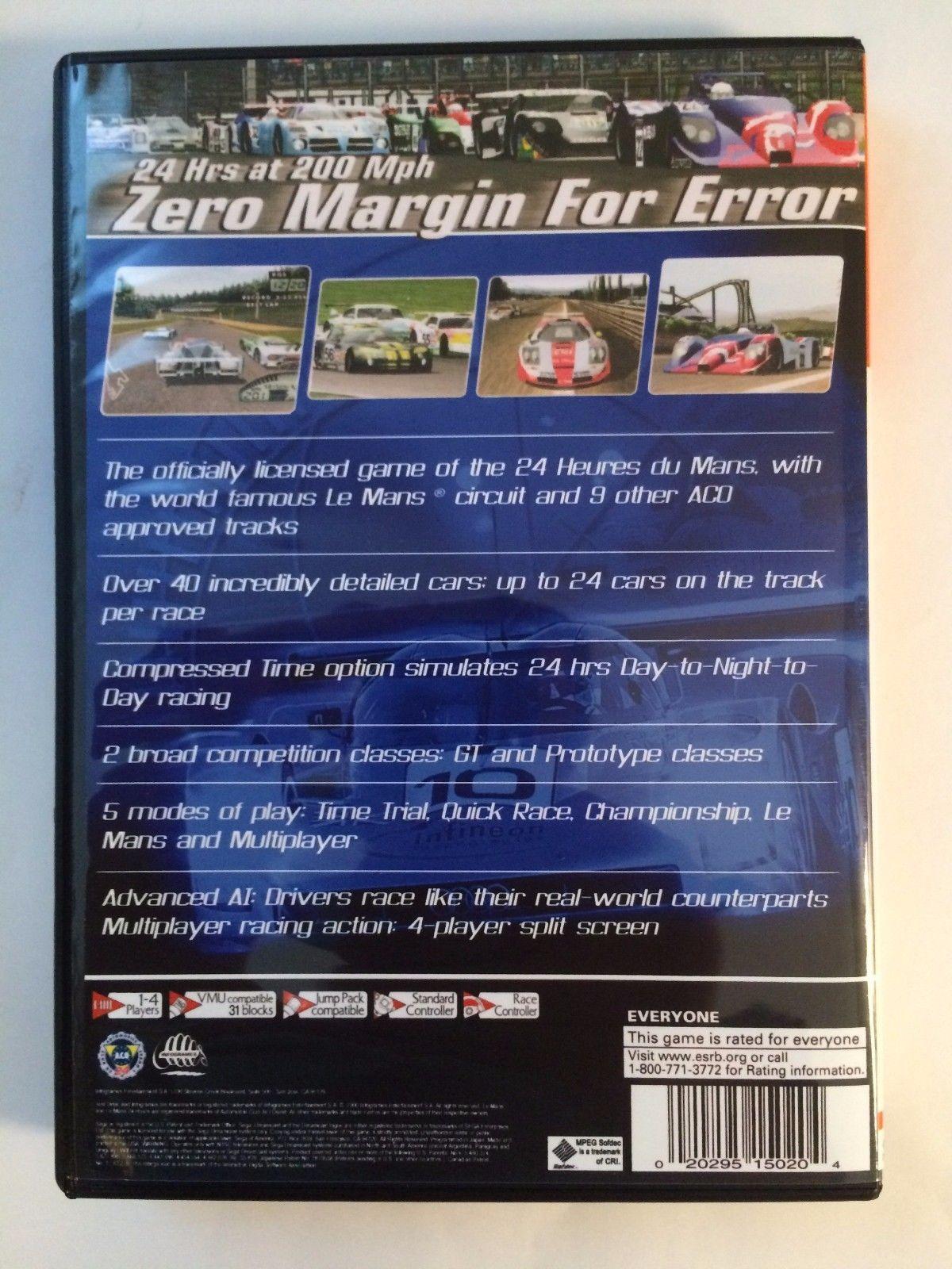Test Drive Le Mans - Sega Dreamcast - Replacement Case - No Game