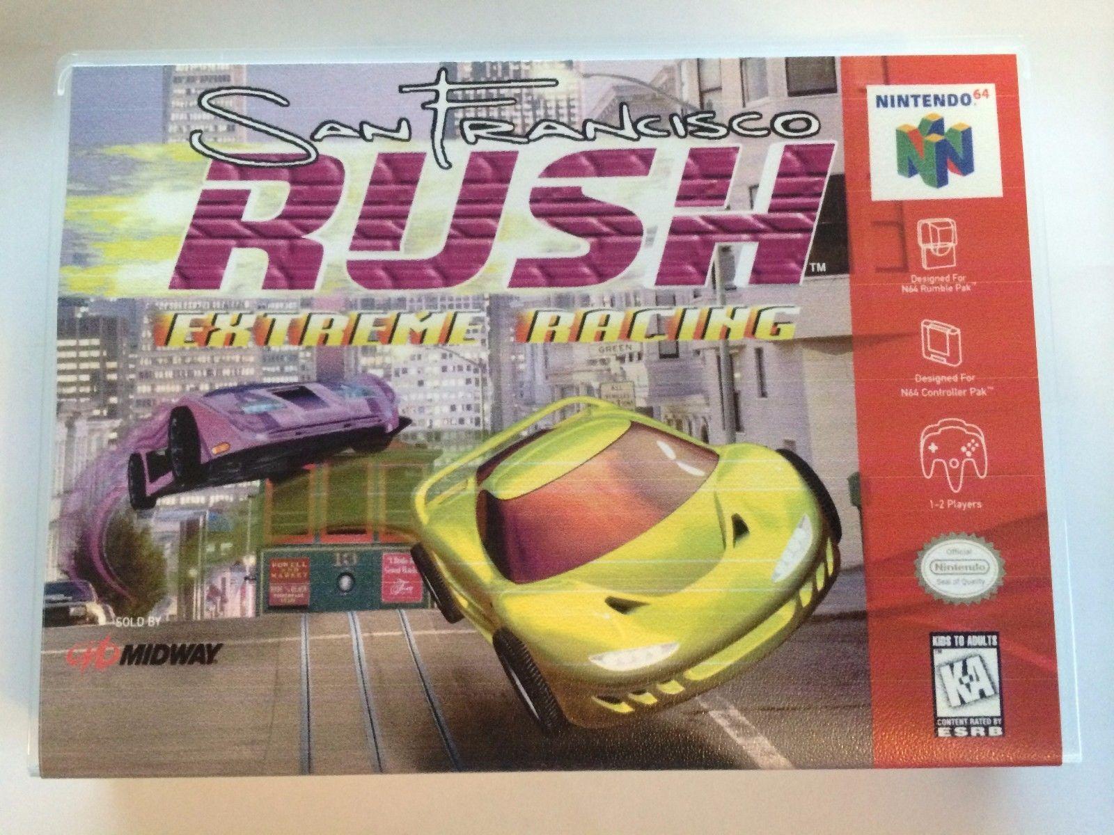 San Francisco Rush Extreme Racing - Nintendo 64 - Replacement Case - No Game