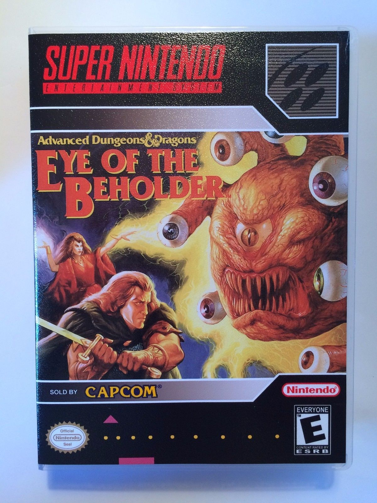 Eye of the Beholder - Super Nintendo - Replacement Case - No Game