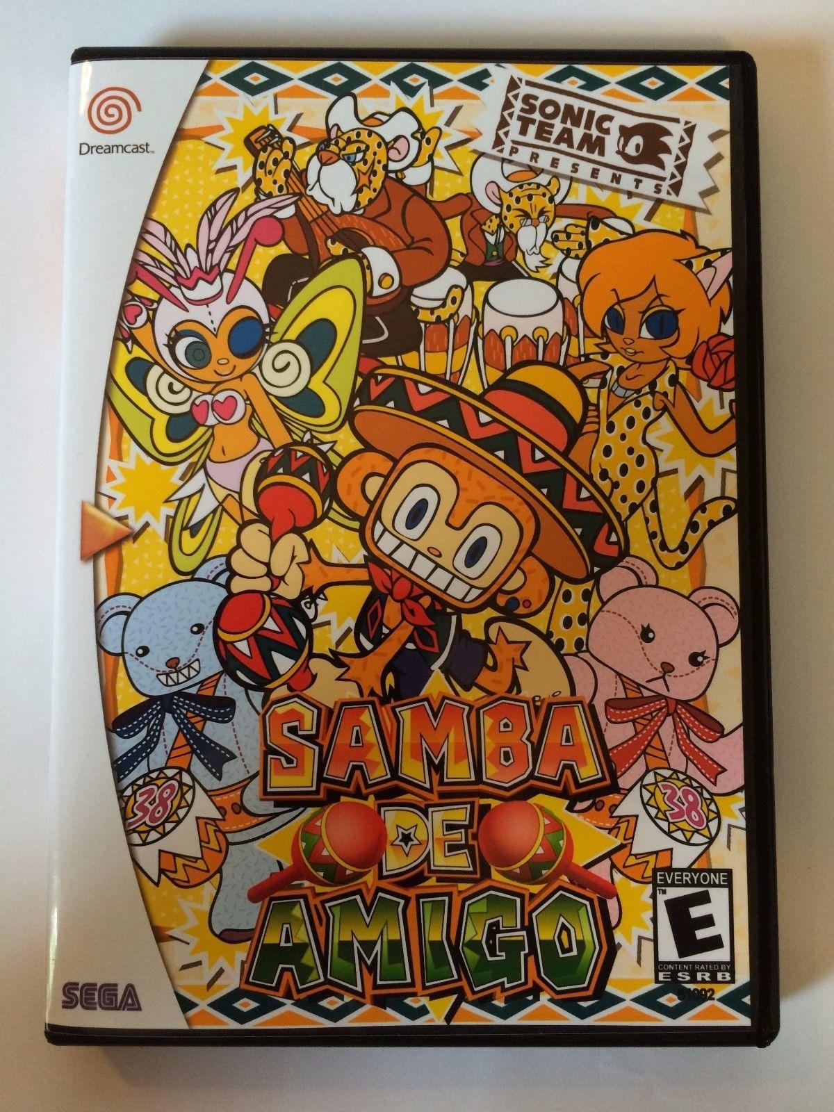 Samba De Amigo - Sega Dreamcast - Replacement Case - No Game