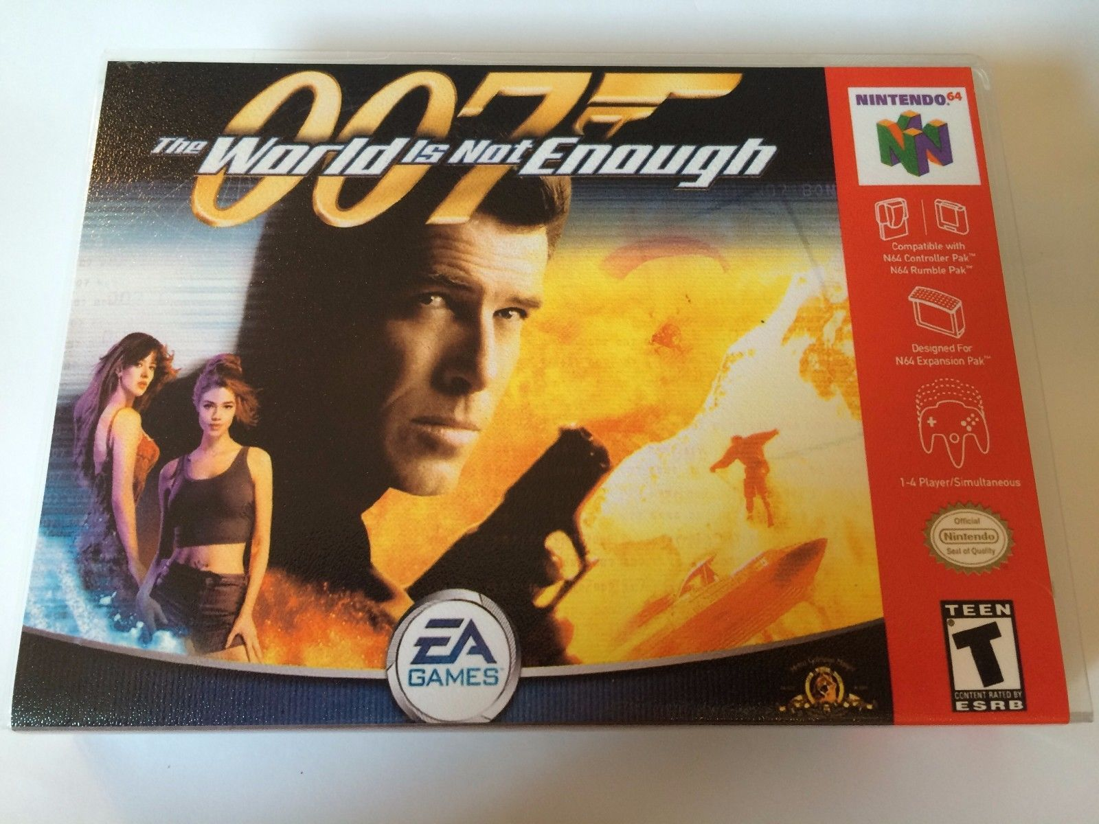 007 The World is Not Enough - Nintendo 64 - Replacement Case - No Game