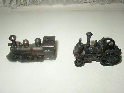 2-pc Metal Mini -3in, Toy-Sharpeners: Fire Engine-Locomotive