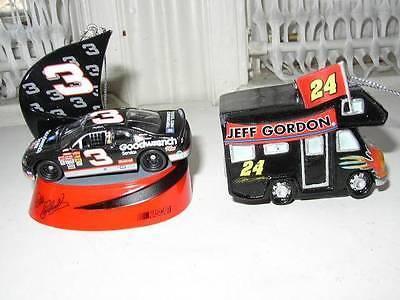 Nascar-Trevco Dale Earnhardt, #3 and Jeff Gordon Travel Van In Orig. Box