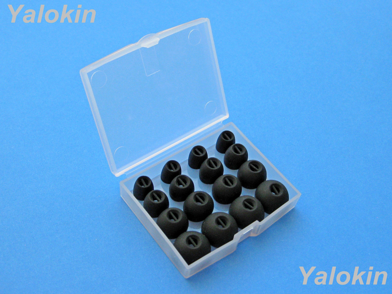 16pcs XS/S/M/L Comfort Eartips buds for Sennheiser CX 3.00 and CX 5.00 (B-NSEN)