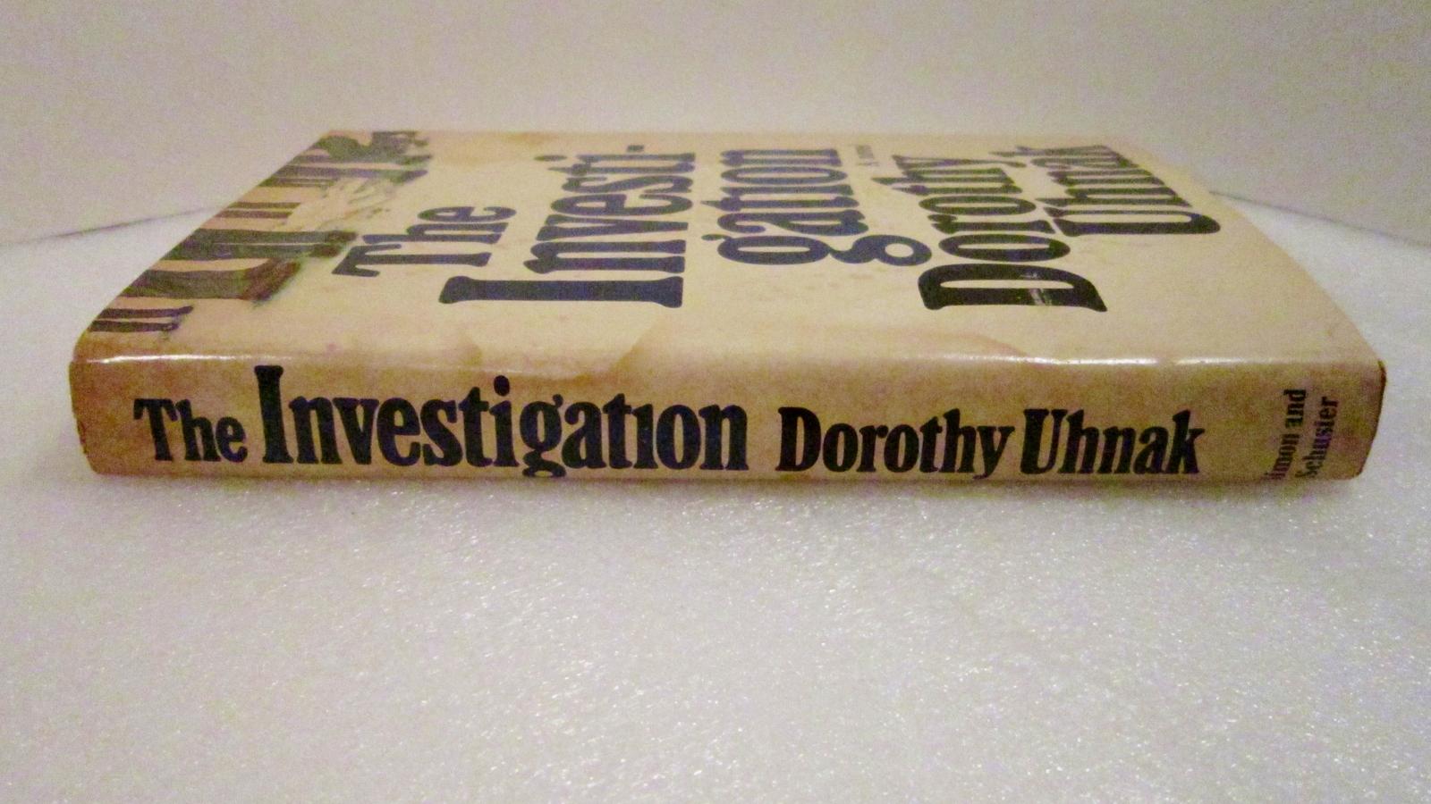 The Investigation 1977 Dorothy Uhnak novel