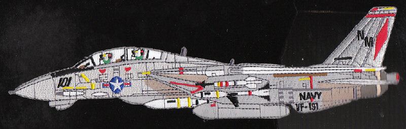 Vf 191 satan s kittens f 14 tomcat navy squadron military patch