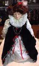 "Franklin Heirloom Dolls Queen Elizabeth I 19"" - $39.59"