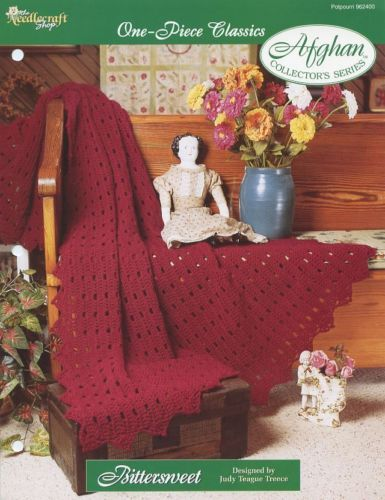 Bittersweet One-Piece Afghan TNS Crochet Pattern - 30 Days to Shop & Pay!