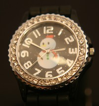 Get ready for Christmas with this delightful new Santa Claus quartz wris... - $20.00