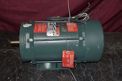 DAYTON 3N838 WASHDOWN MOTOR 2 HP 3450 RPM 230-460V 60HZ 3 PHASE