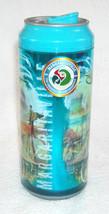 Margaritaville Can Shaped Travel Tumbler Tropical beach Theme plastic 16 oz - $24.70
