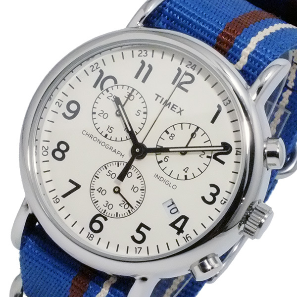 NewTimex Unisex Weekender Forty Analog Display Quartz Watch