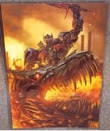 Transfomers Optimus Prime & Grimlock Glossy Pri... - $24.99