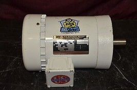 Us Motors G329 The Slicker 1 Hp 208 230/460 V 1725 Rpm 60 Hz 3 Ph Washdown Motor - $371.25