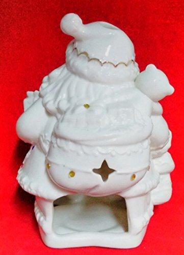 Brighten the Season - Porcelain Santa Votive