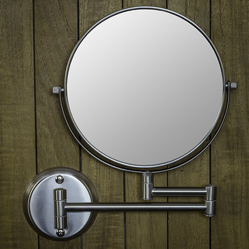 "Hotel Quality 8"" Wall Mount Magnifying Mirror 1 - 7X"