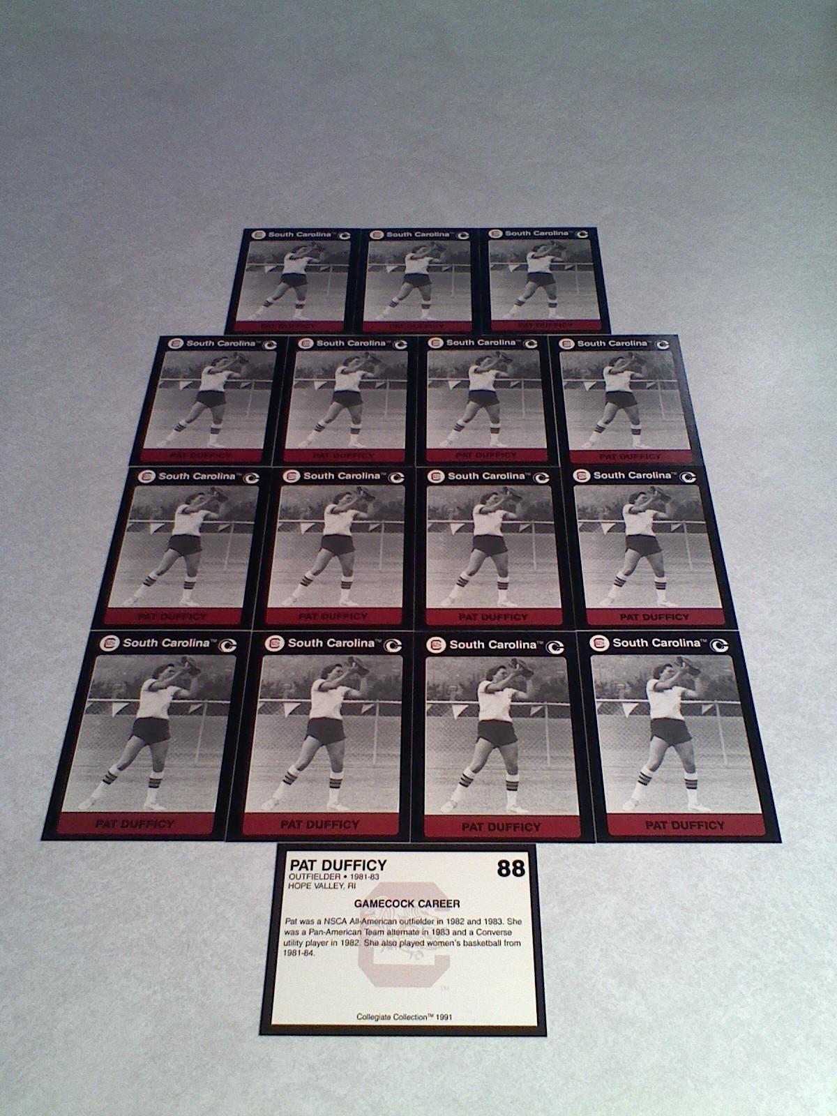 ***PAT DUFFICY***   Lot of 16 cards / South Carolina