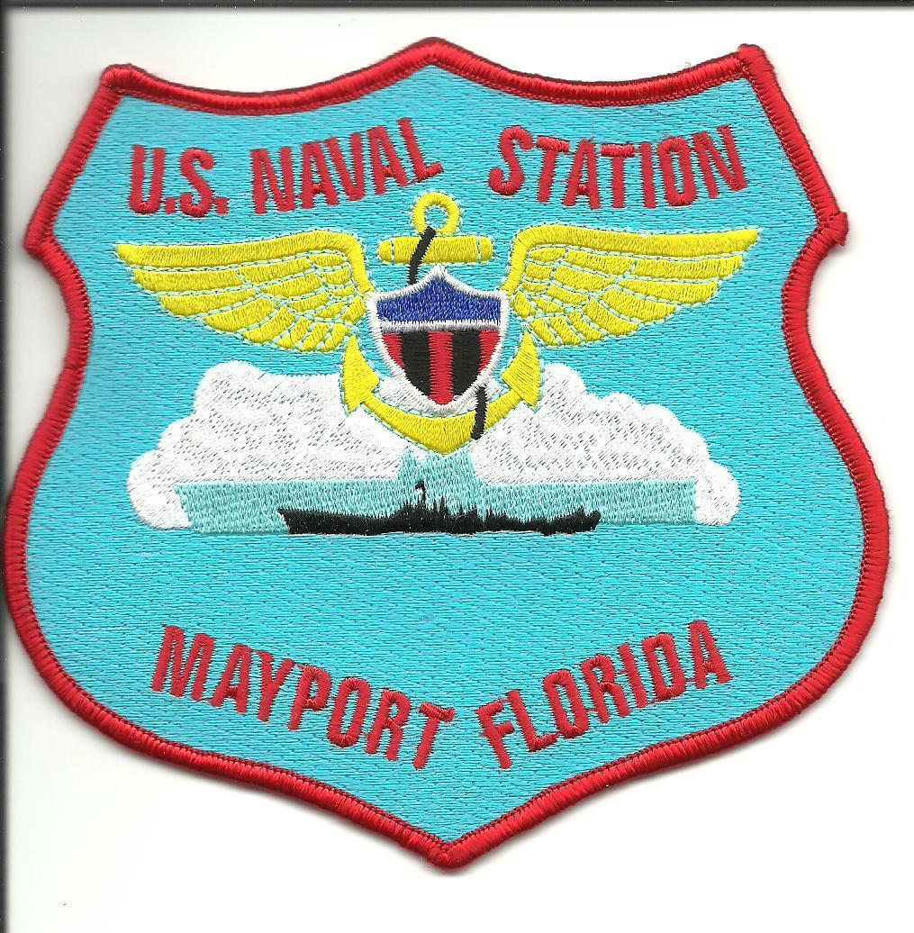 Us navy naval station mayport florida patch