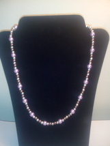 Handmade Multi Faux Pearl Mix Beaded Necklace - $5.99