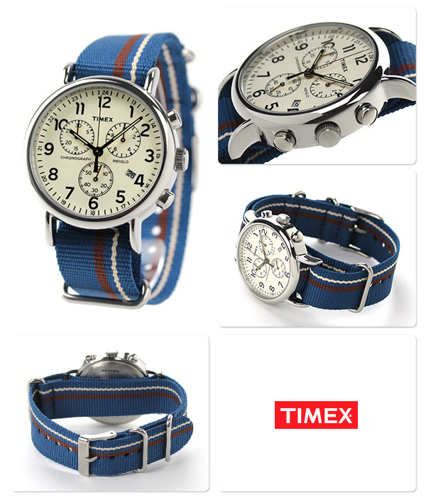 NewTimex Unisex Weekender Forty Analog Display Quartz Watch