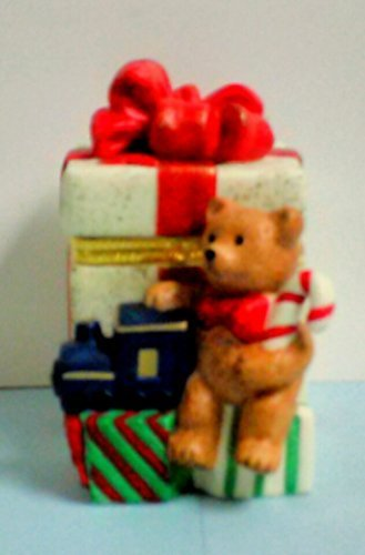 PartyLite Teddy Bear Gift Box