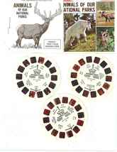"VIEW- MASTER  1977   ""ANIMALS OF OUR NATIONAL PARKS"" REELS  A-B AND C - $10.99"