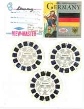 """VIEW MASTER   """" NATIONS OF THE WORLD SERIES   GERMANY""""  REELS  B 1931—B ... - $10.99"""