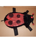 "Halloween Pet Costume Ladybug Light Up Eyes Small Fits 10"" To 13"" Dog 70L - $9.86"