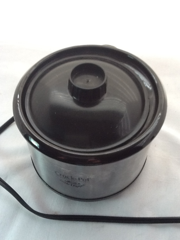 "CROCKPOT ""LITTLE DIPPER"" STONEWARE SLOW COOKER MODEL32041 dip pot RIVAL"