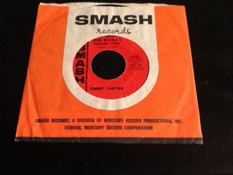 Jimmy Castor Hey Leroy Your Mama's Callin' You 1966 Smash S 2069