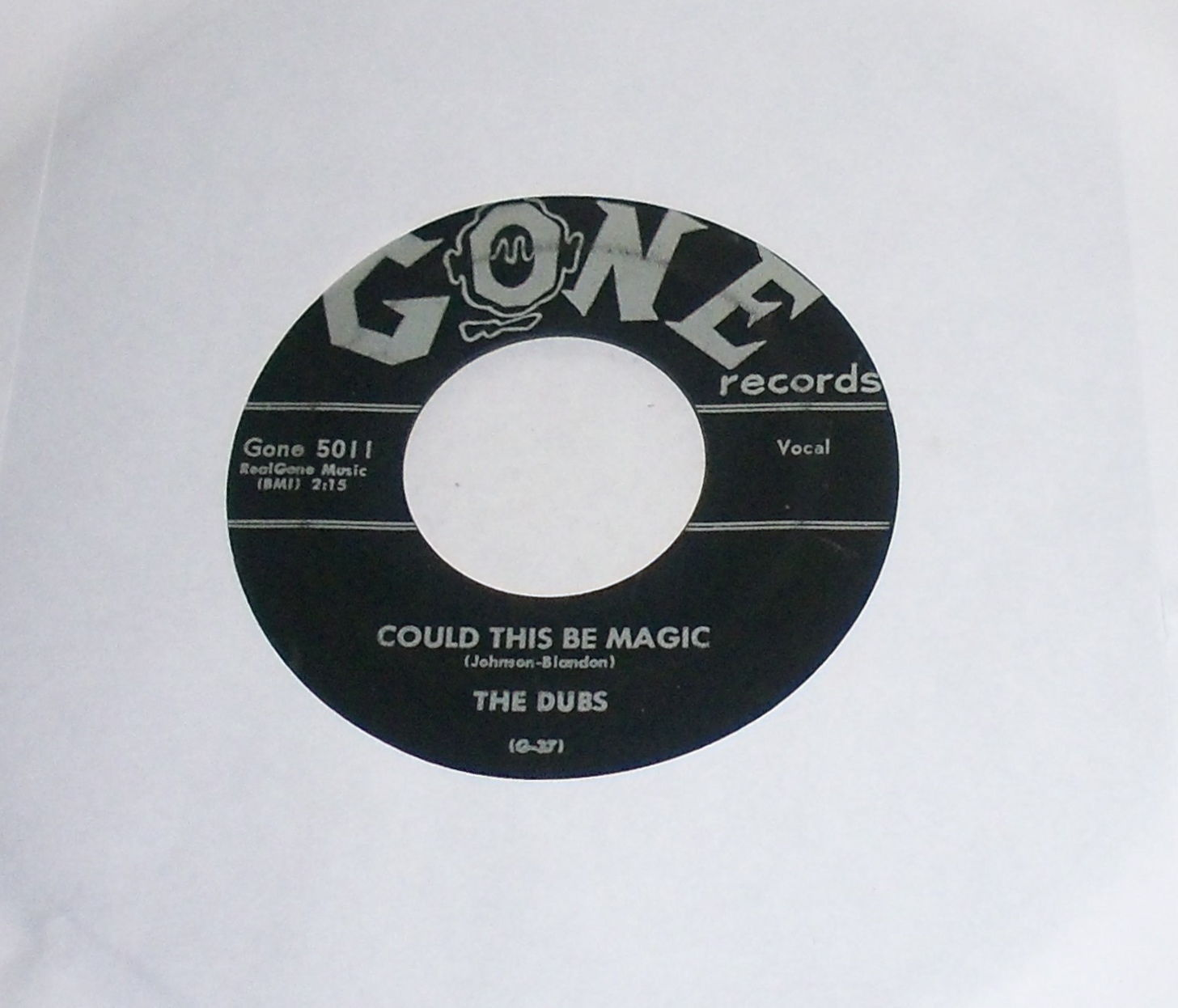 The Dubs Could This Be Magic / Such Lovin', 1957 Gone 5011