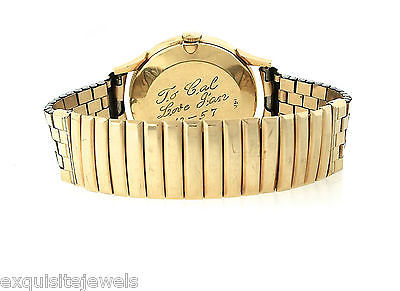 Vintage Men's LeCoultre 14K Yellow Gold 32mm Hand-Winding Watch