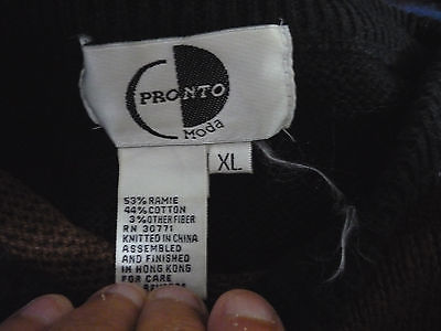 Pronto Moda Sweater Black Animal Look With Patches Black Sequins Boatneck Collar