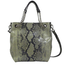 MICHAEL Michael Kors Jet Set Medium Shoulder Tote Pearl Grey - $138.36