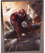 Spider-Man Glossy Print 11 x 17 In Hard Plastic... - $24.99