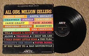 Chantels Chiffons Angels! ALL Girl Million Sellers 1964 1st Pressing ALS-16007