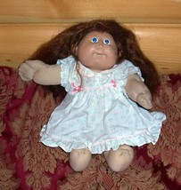 Cabbage Patch Kids Coleco Brown Full Cornsilk Hair #10 CPK '86 Orphan - $7.99