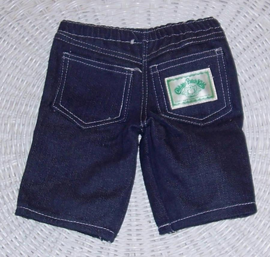 Cabbage Patch Kids Coleco Auburn Curls '86 #15 Face Logo Jeans & Jacket Orphan