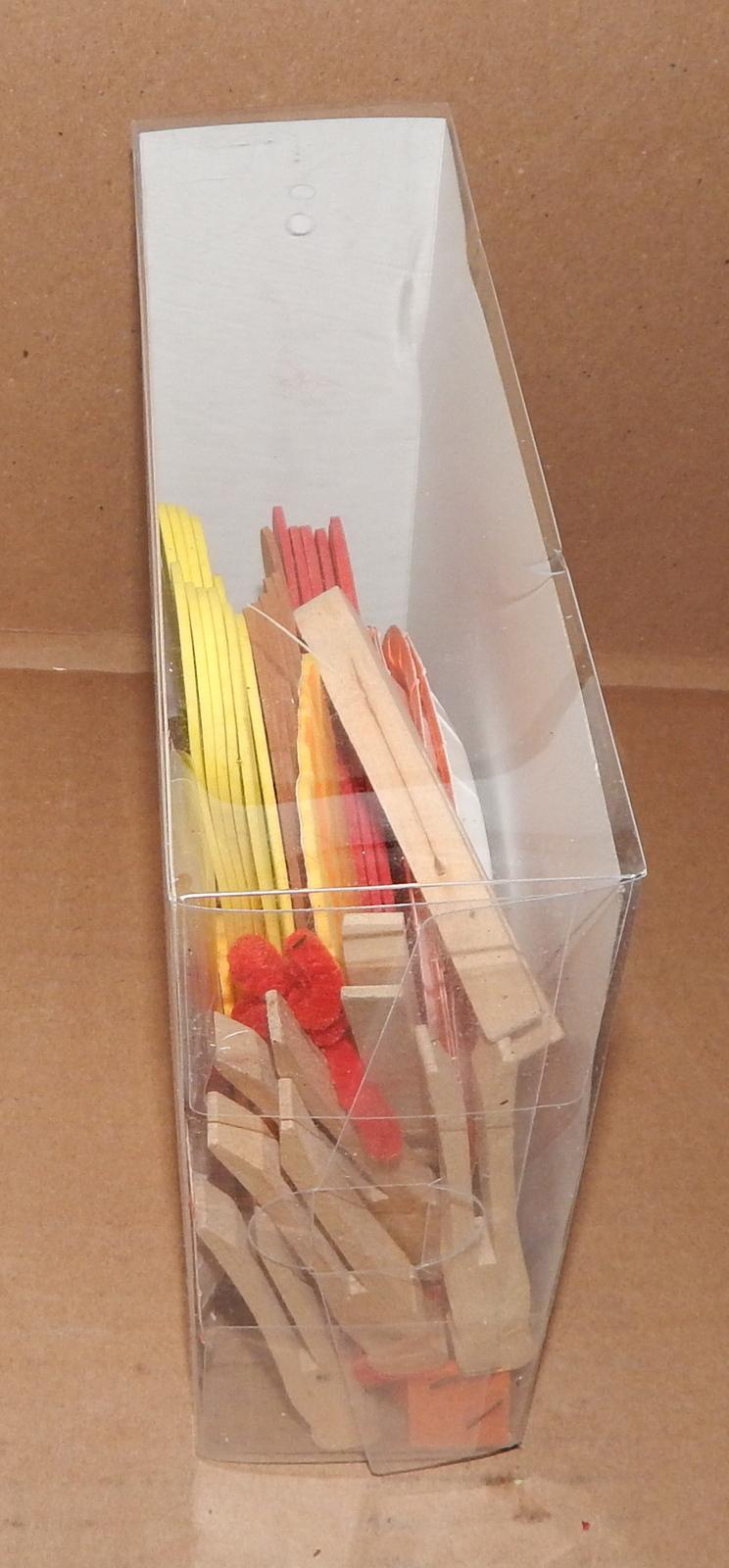 "Thanksgiving 3D Structure Foam Turkey Kids Craft Kit Makes6ea 55pc 7"" x 6"" 6+70W"