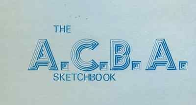 "BARBARIAN by Al Milgrom (1976) 8-1/2 x 11"" unsigned ACBA Sketchbook print"