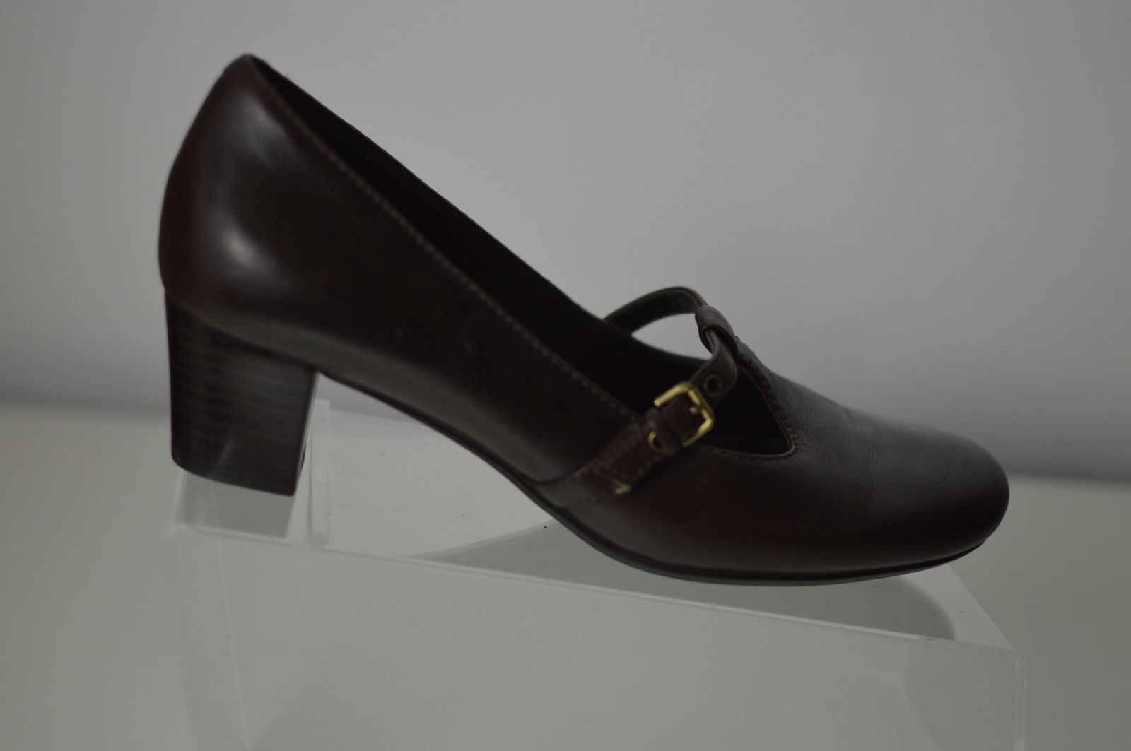 fff135bc Ecco T-STRAP Pumps Leather Brown Women's and 19 similar items