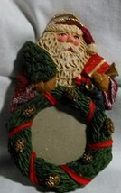 Vintage Santa Photo Christmas Ornament - $9.99