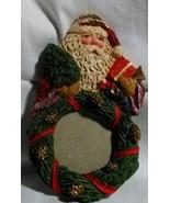 Vintage Santa Photo Christmas Ornament - $9.99