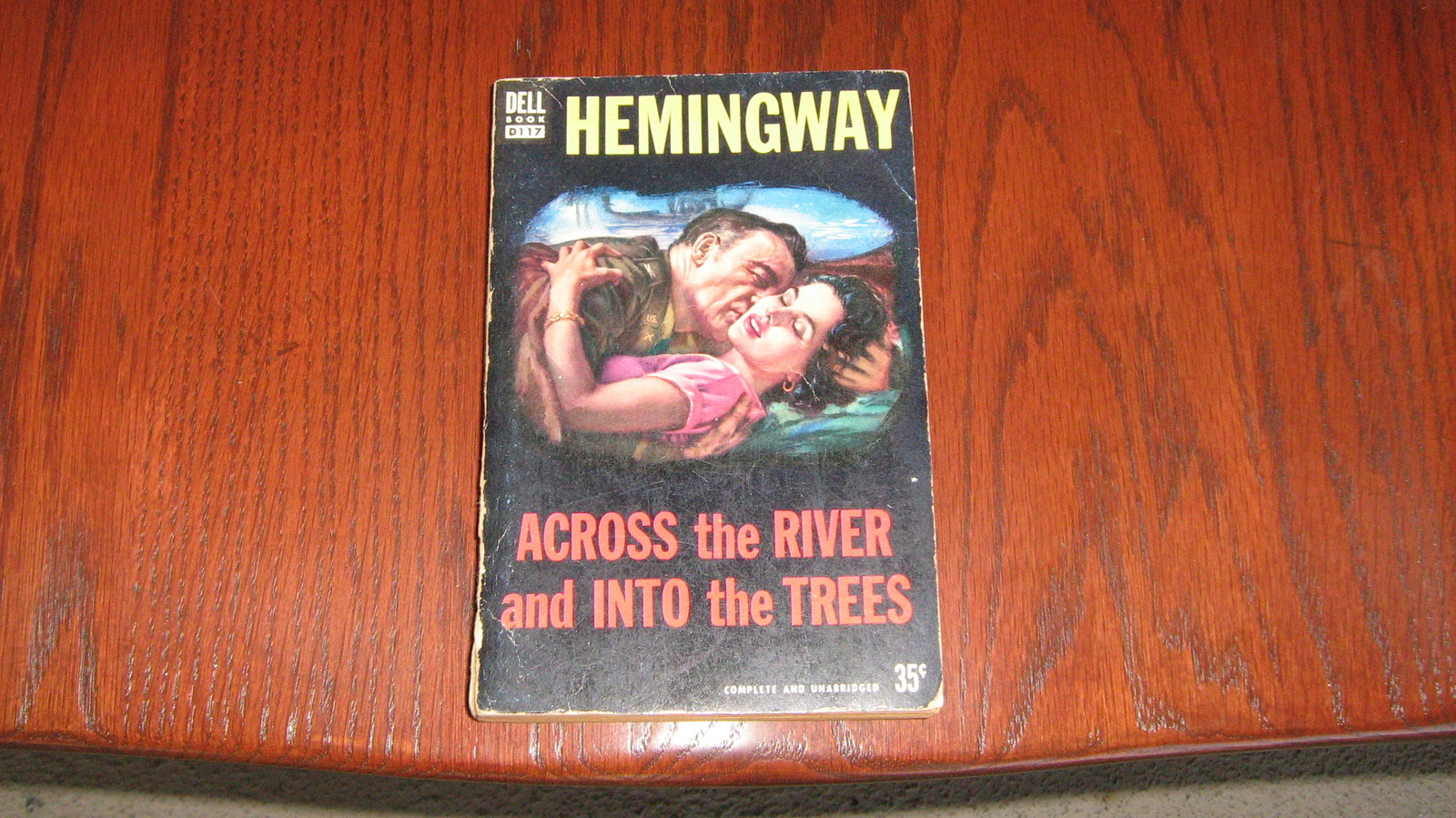 Across the River and into the Trees,  Ernest Hemingway , One of the great Author