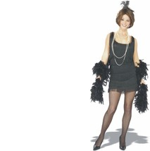 Costume - Adult - Chicago Flapper - Size Small - Black 1920's Style Frin... - $23.93