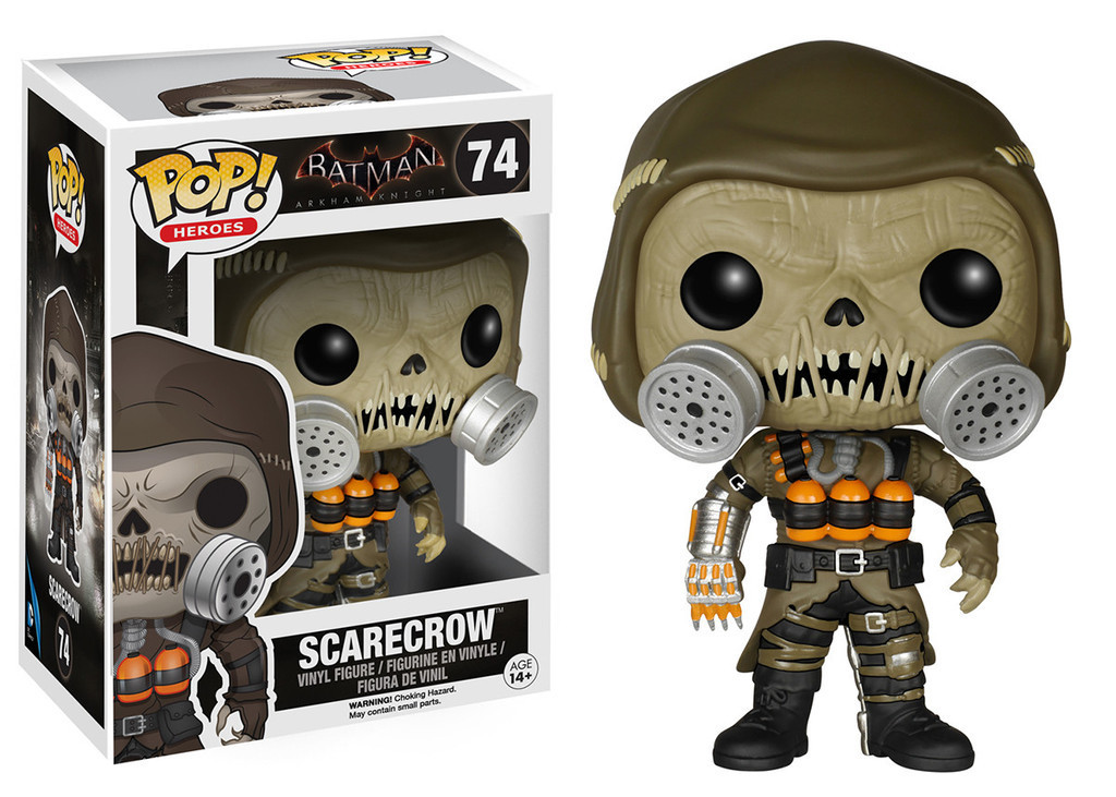 Batman Arkham Knight Scarecrow Funko POP Vinyl Figure *NEW*
