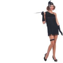 Costume - Adult - Flapper - Black Diamond Dazzle - Size Standard - 20's ... - $18.12