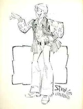 "ARCHIE by Stan Goldberg (1976) 8-1/2 x 11"" unsigned ACBA Sketchbook print - $9.89"