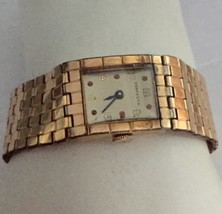 "Vintage Swiss Perfecto Gold Ladies  Watch ""Really Nice"" - $123.75"